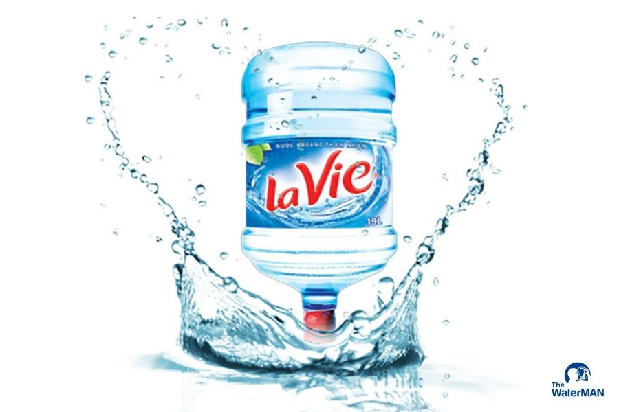 Đại lý đặt nước khoáng Lavie, Viva bình 20L, thùng đóng chai tại Quận 8