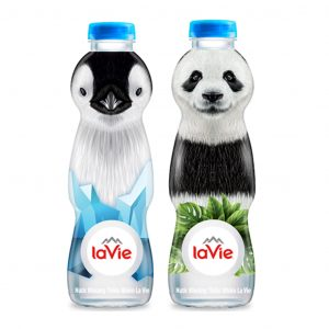 thung dong chai lavie kid 330ml