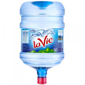 Nước khoáng Lavie bình 19L úp ngược
